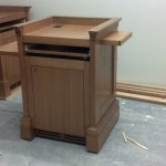 Marist College Custom Podium Build