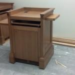 Marist College Custom Podium Build