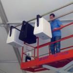 The Grandview Outdoor Ballroom Subwoofer Installation